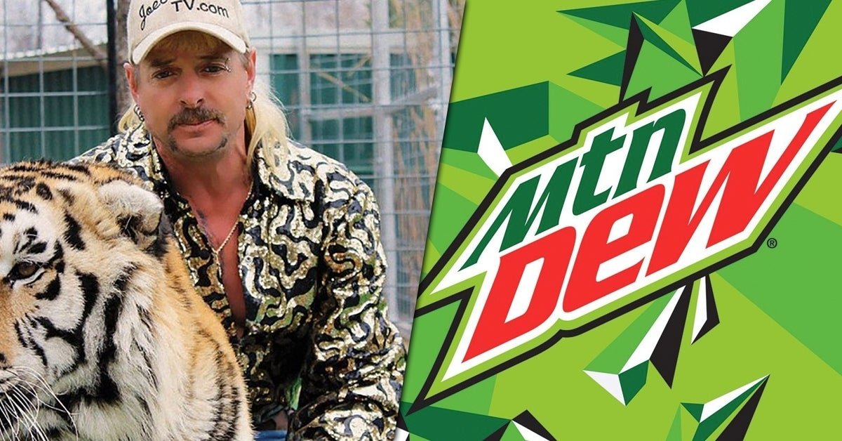 tiger king mountain dew