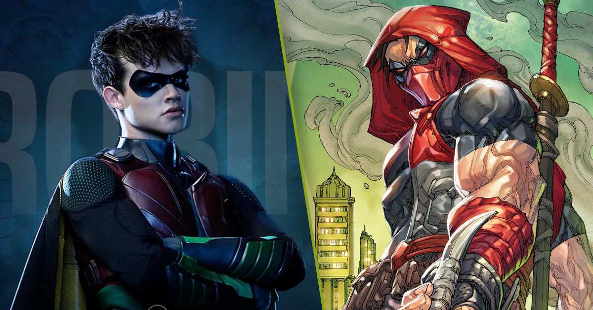 Titans Robin Curran Walters Red Hood Spinoff