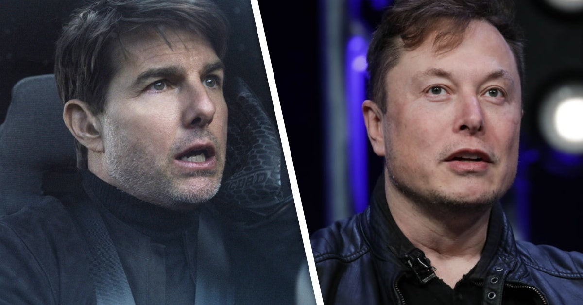 tom cruise elon musk movie space x