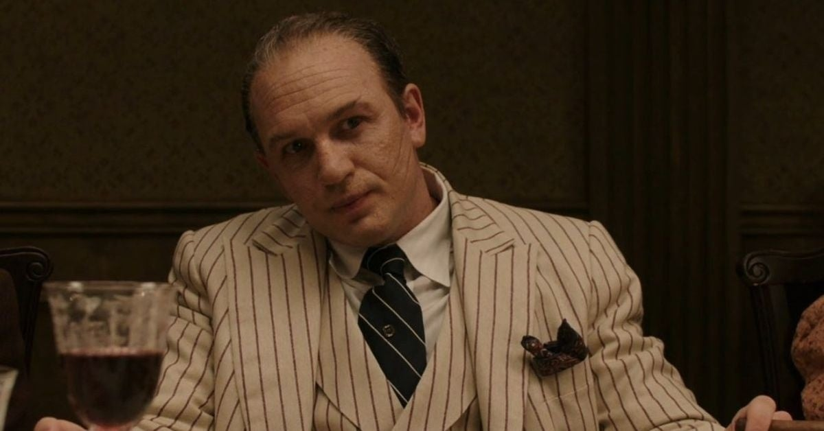 tom hardy capone review
