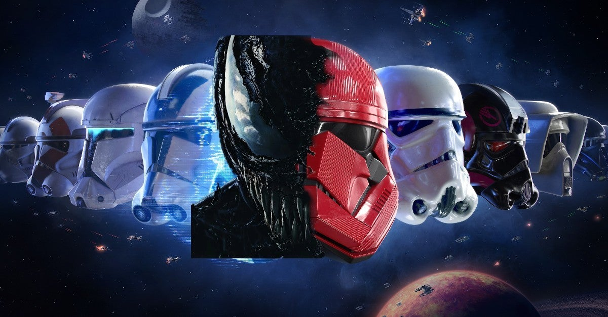 Venom Stormtrooper Marvel Star Wars Mashup Cosplay Best