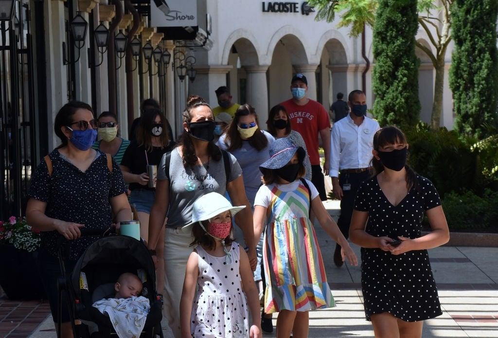 walt disney world masks coronavirus pandemic