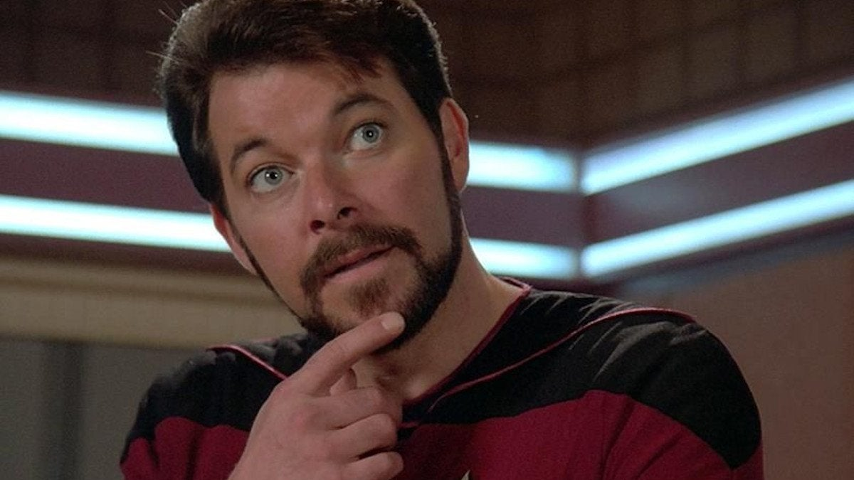 Will Riker Star Trek The Next Generation