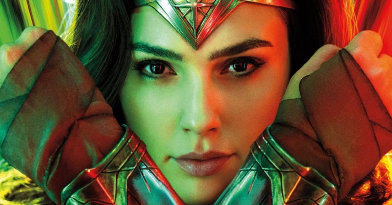Wonder Woman 1984 Gets a Psychedelic New Magazine Cover