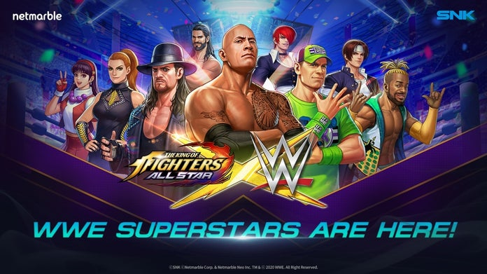 WWE-King-of-Fighters-All-Star-Roster