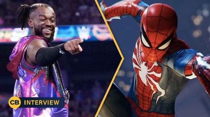 WWE-Kofi-Kingston-Spider-Man-Figure