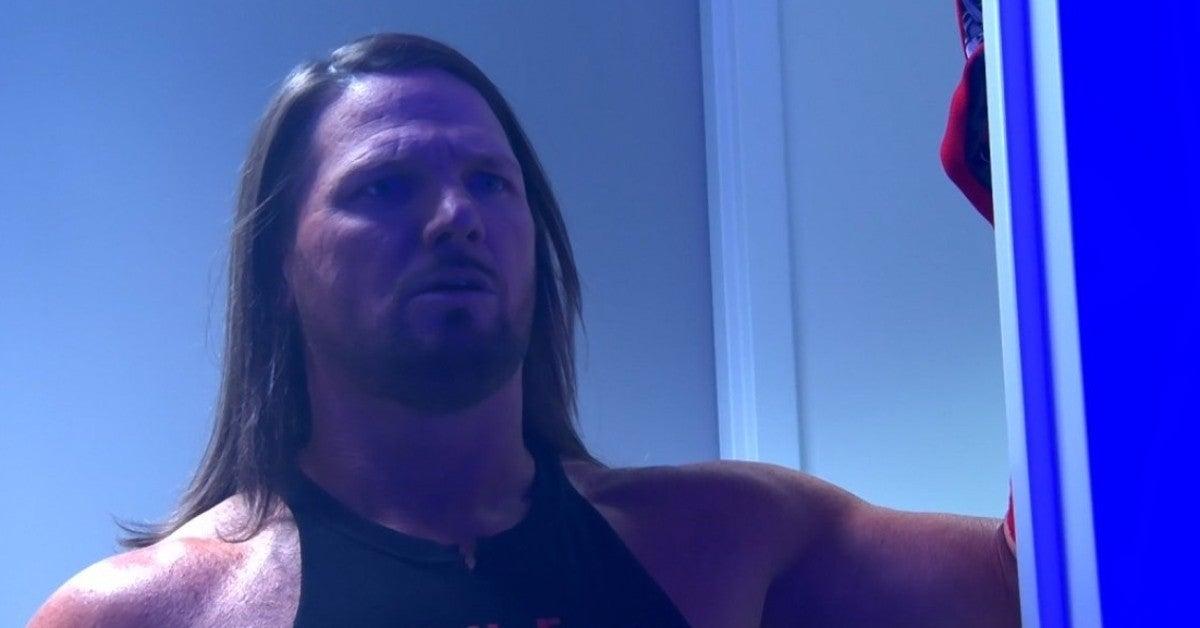 WWE Money in the Bank AJ Styles