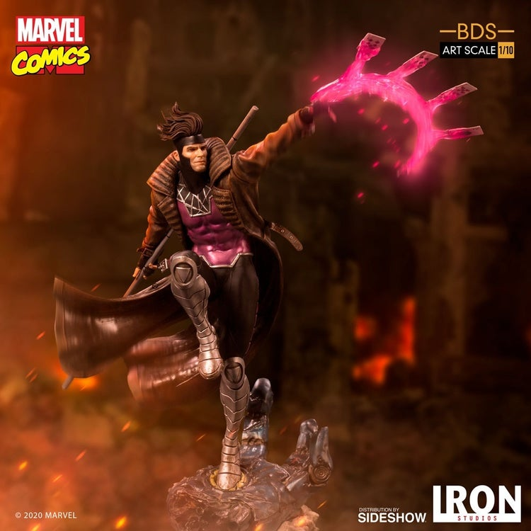 x men gambit iron studios 11