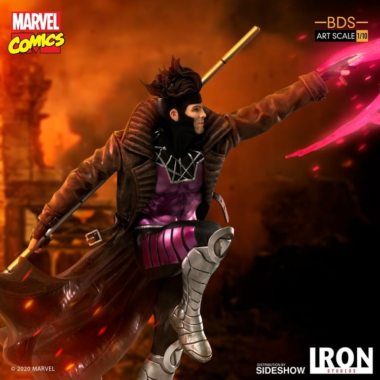 x men gambit iron studios 13