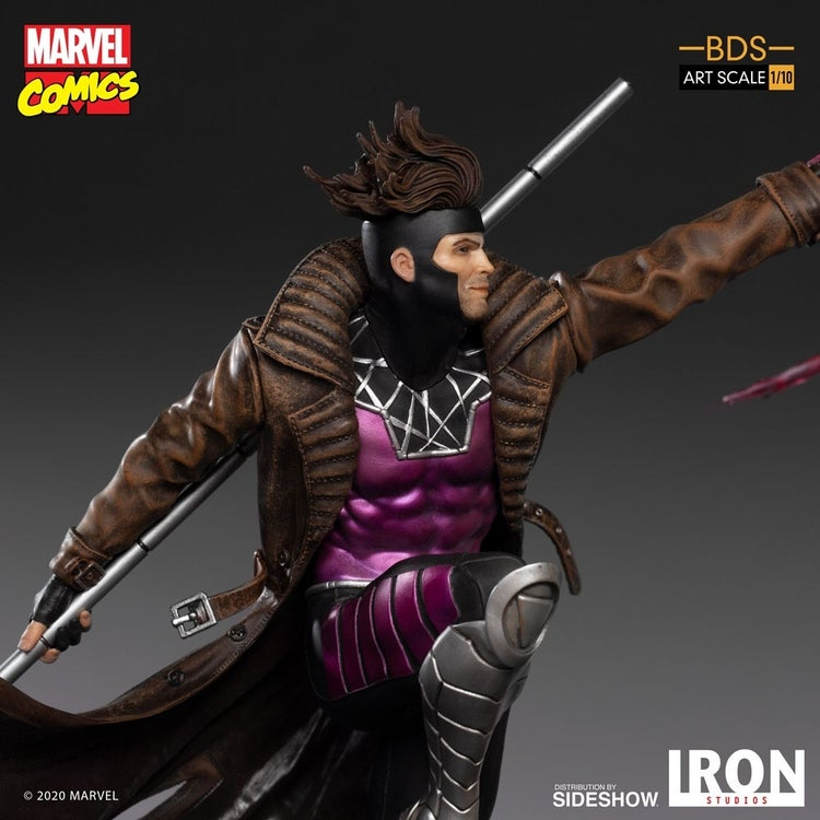 x men gambit iron studios 5