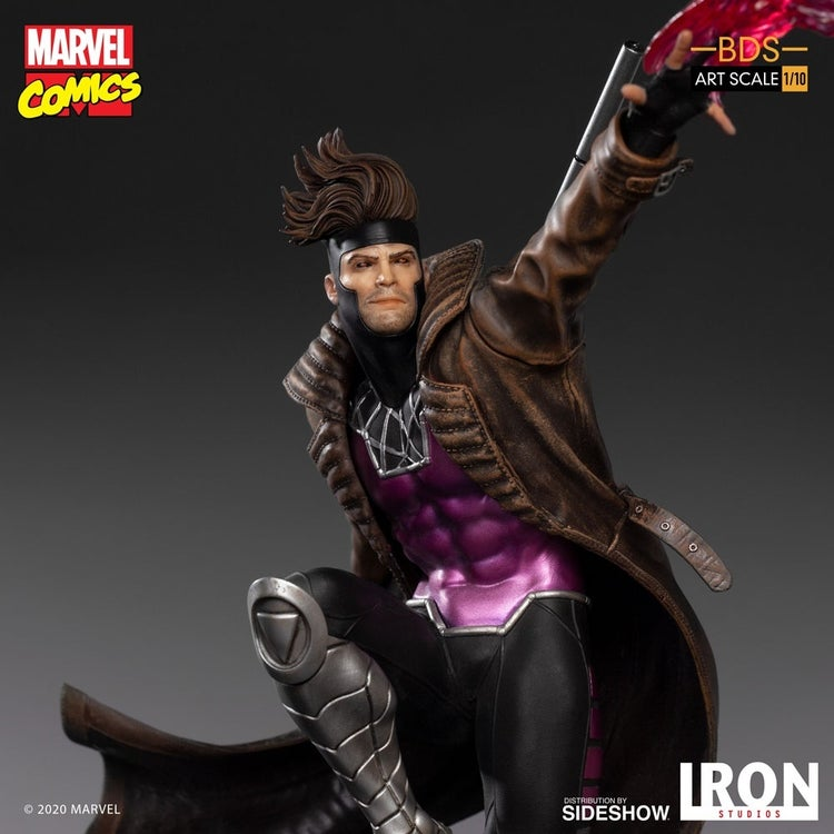 x men gambit iron studios 6
