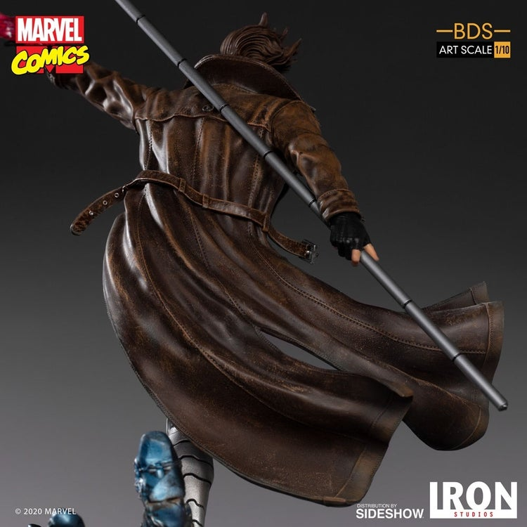 x men gambit iron studios 7