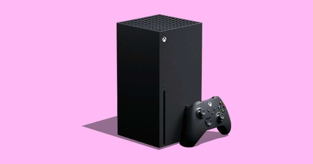 xbox series x pink