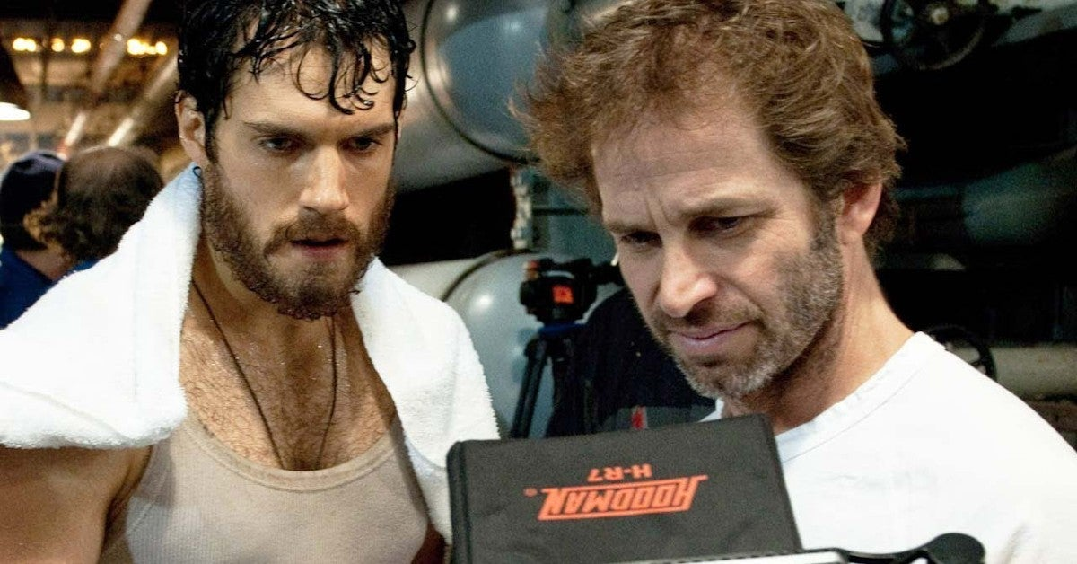 Zack Snyder Announces Superman Man of Steel Watch Party
