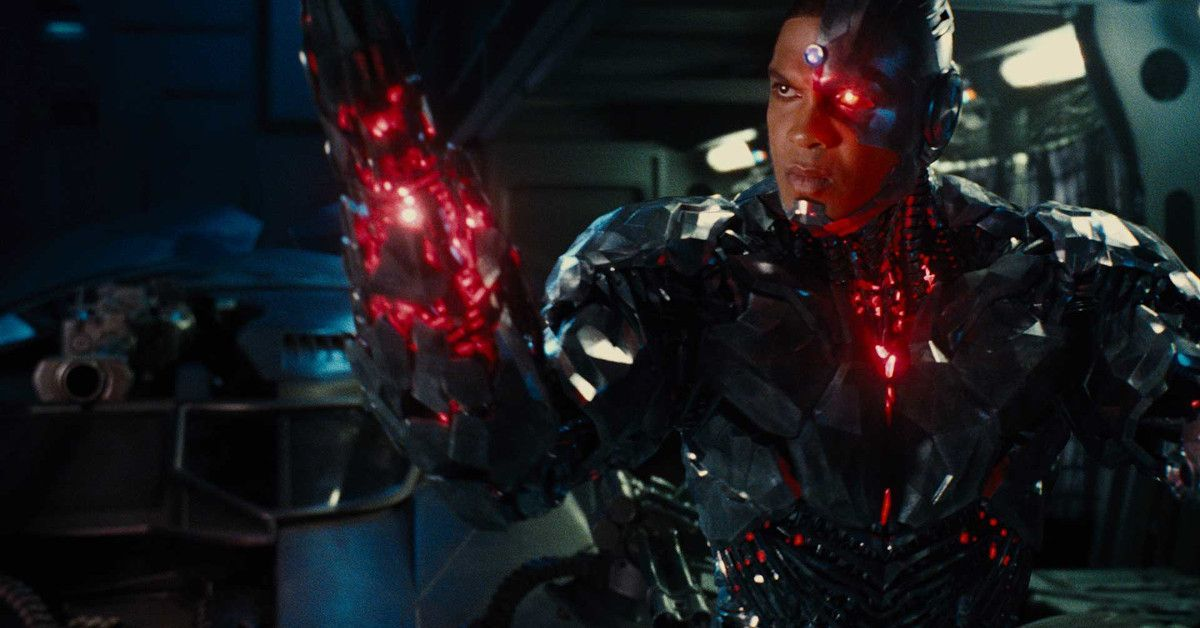 Zack Snyder Justice League Ray Fisher Cyborg Happy
