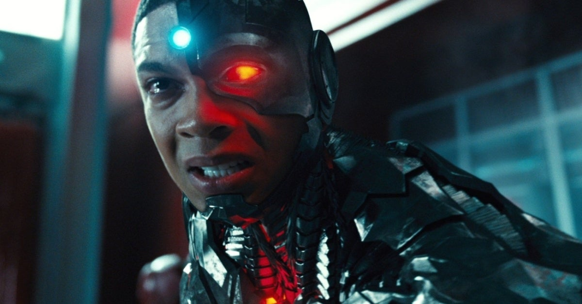 Zack Snyder's Justice League Cyborg Ray Fisher