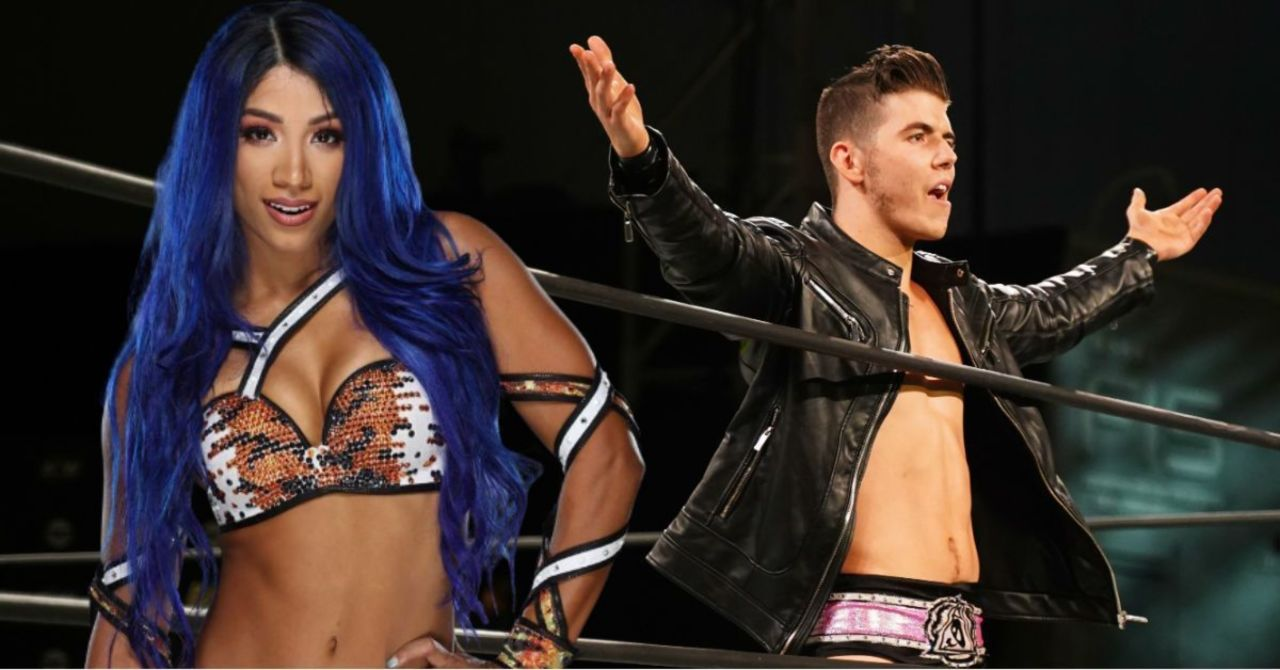 Rape Comments On Sasha Banks: AEW Suspends Sammy Guevara In #Speakingout Movement 1