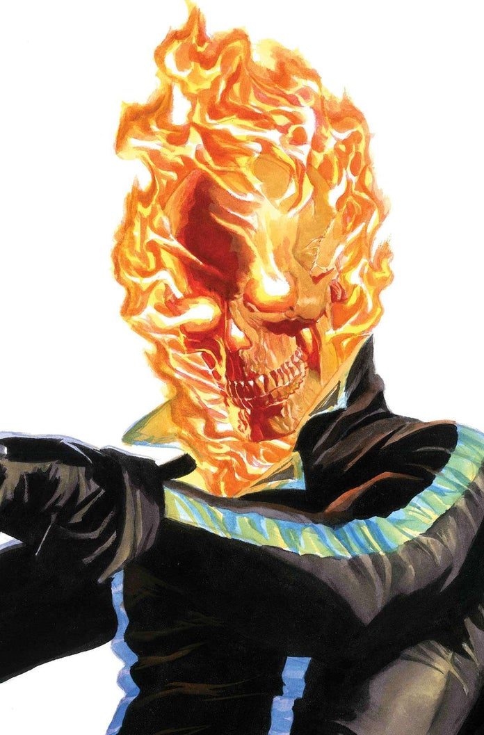 Alex-Ross-Timeless-Ghost-Rider-Cover