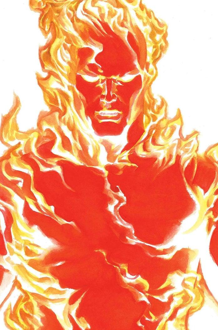 Alex-Ross-Timeless-Human-Torch-Cover