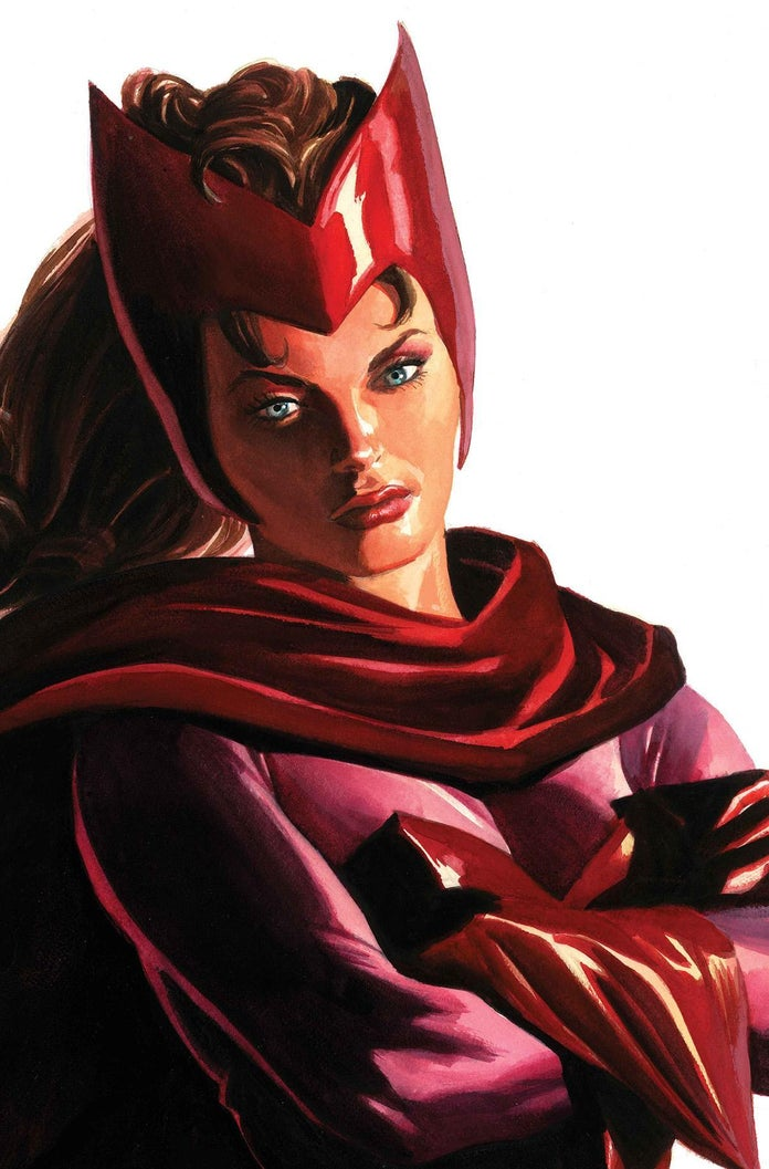 Alex-Ross-Timeless-Scarlet-Witch-Cover
