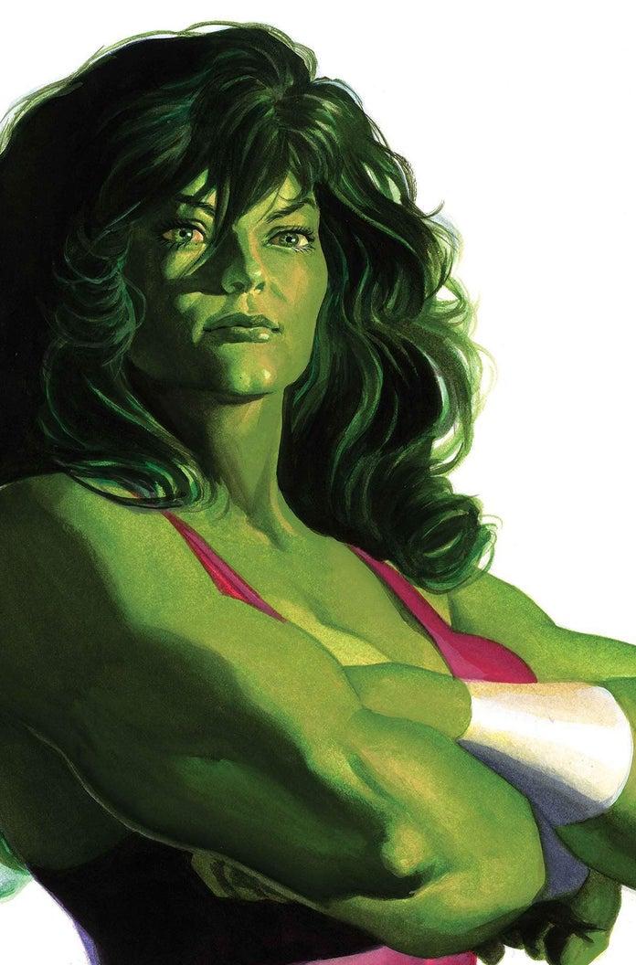 Alex-Ross-Timeless-She-Hulk-Cover