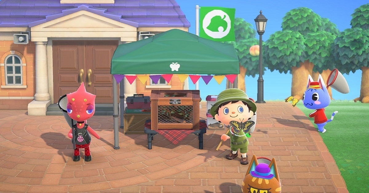 Animal Crossing New Horizons Bug-Off