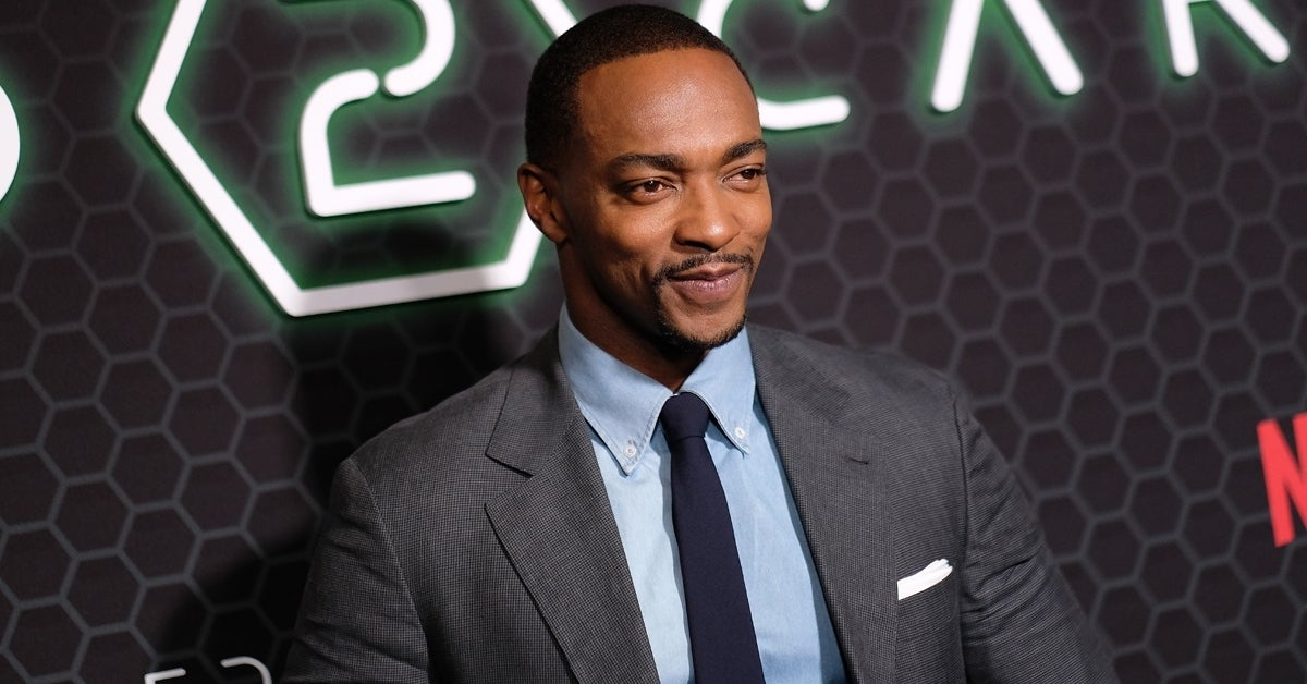 anthony mackie red carpet