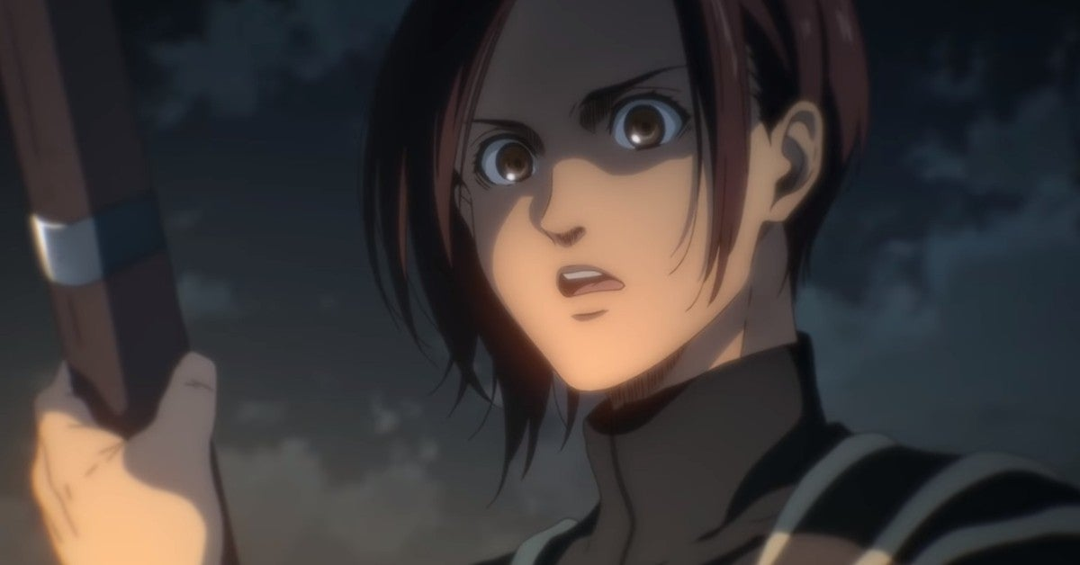 Attack on Titan Final Season Sasha