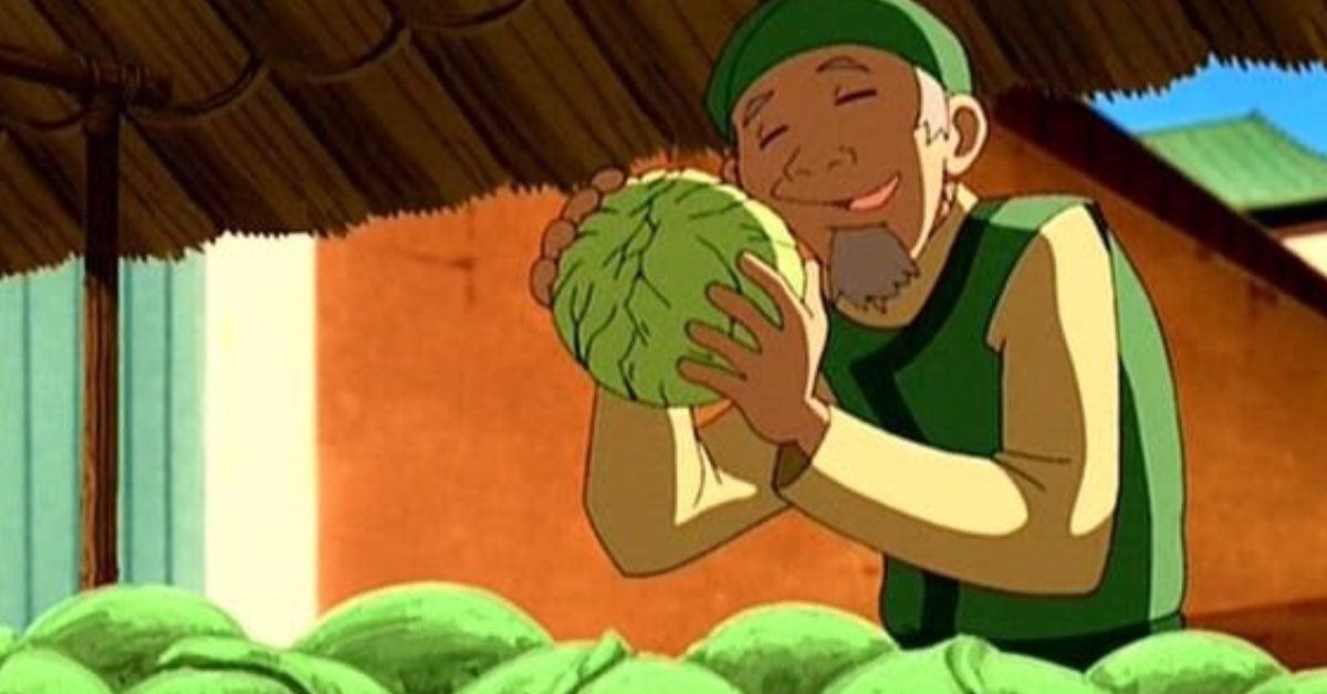 avatar last airbender cabbage man