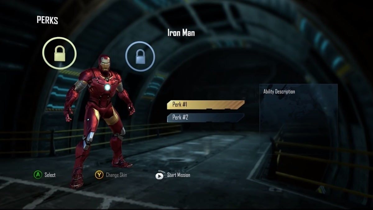 avengers cancelled gameplay footage iron man new cropped hed