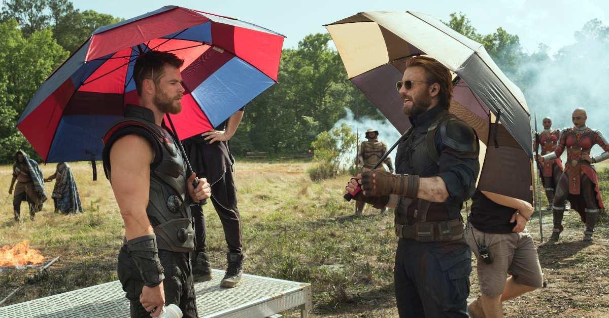 Avengers Infinity War BTS Photos