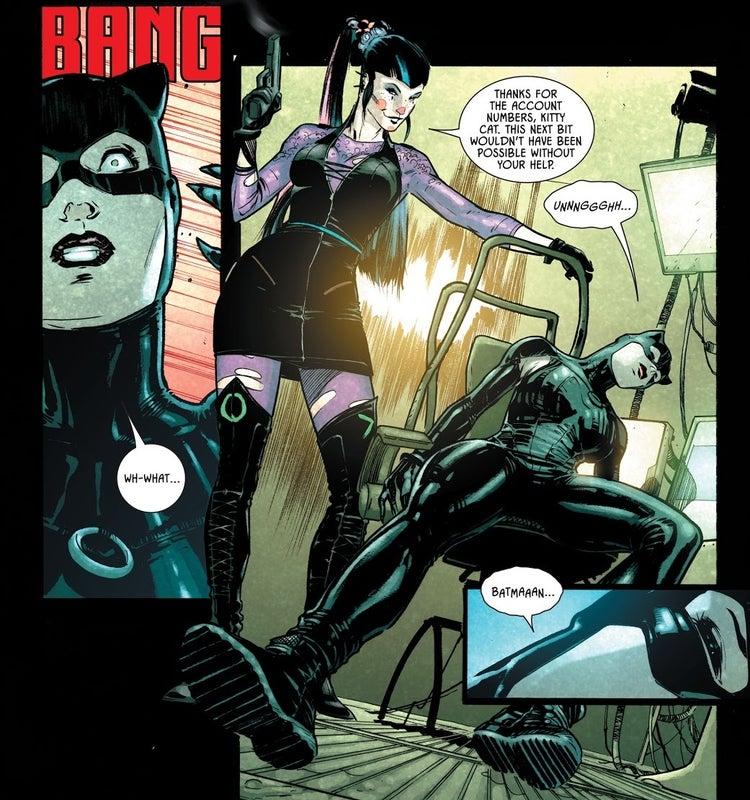 batman 93 catwoman punchline 1