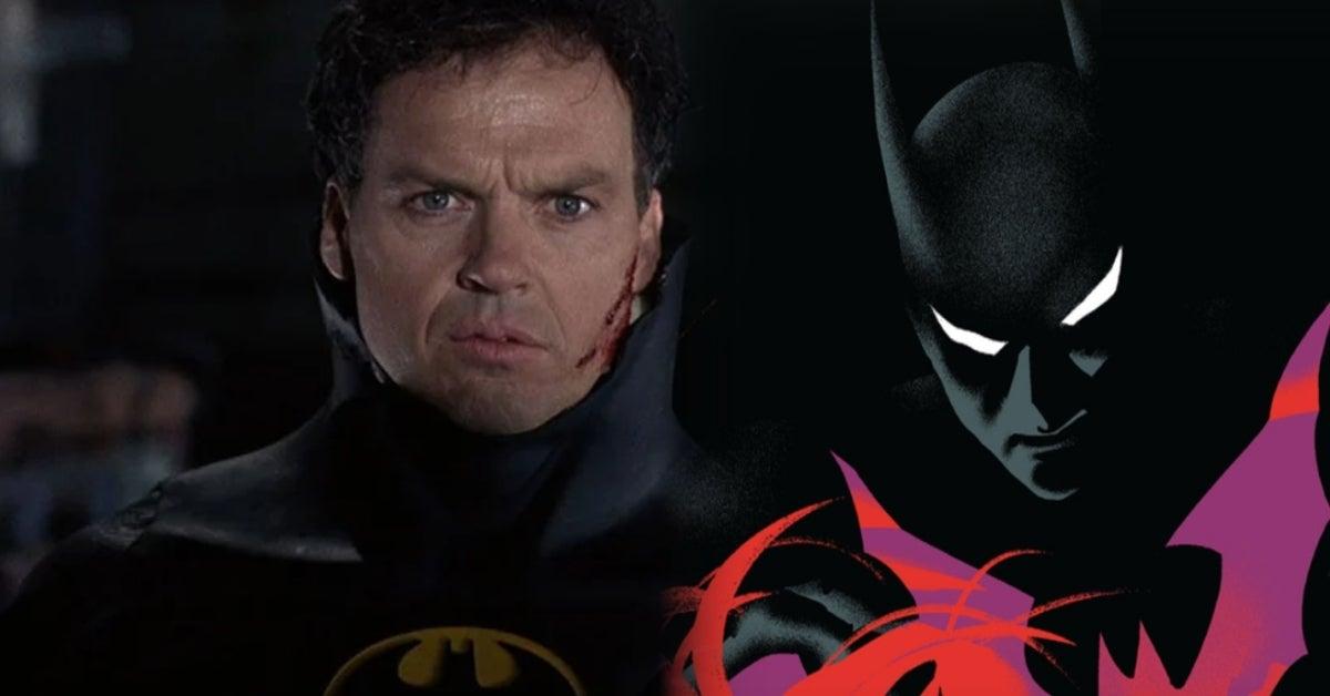 Batman Michael Keaton Batman Beyond comicbookcom