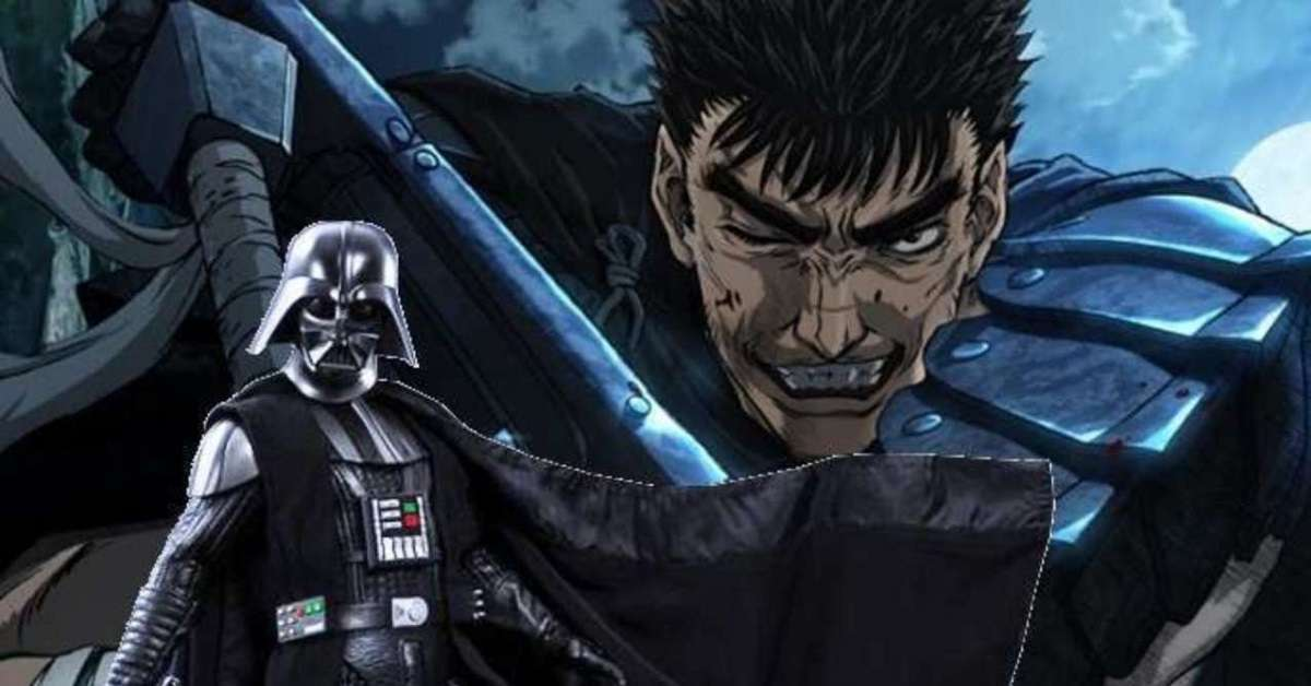 Berserk Star Wars Darth Vader