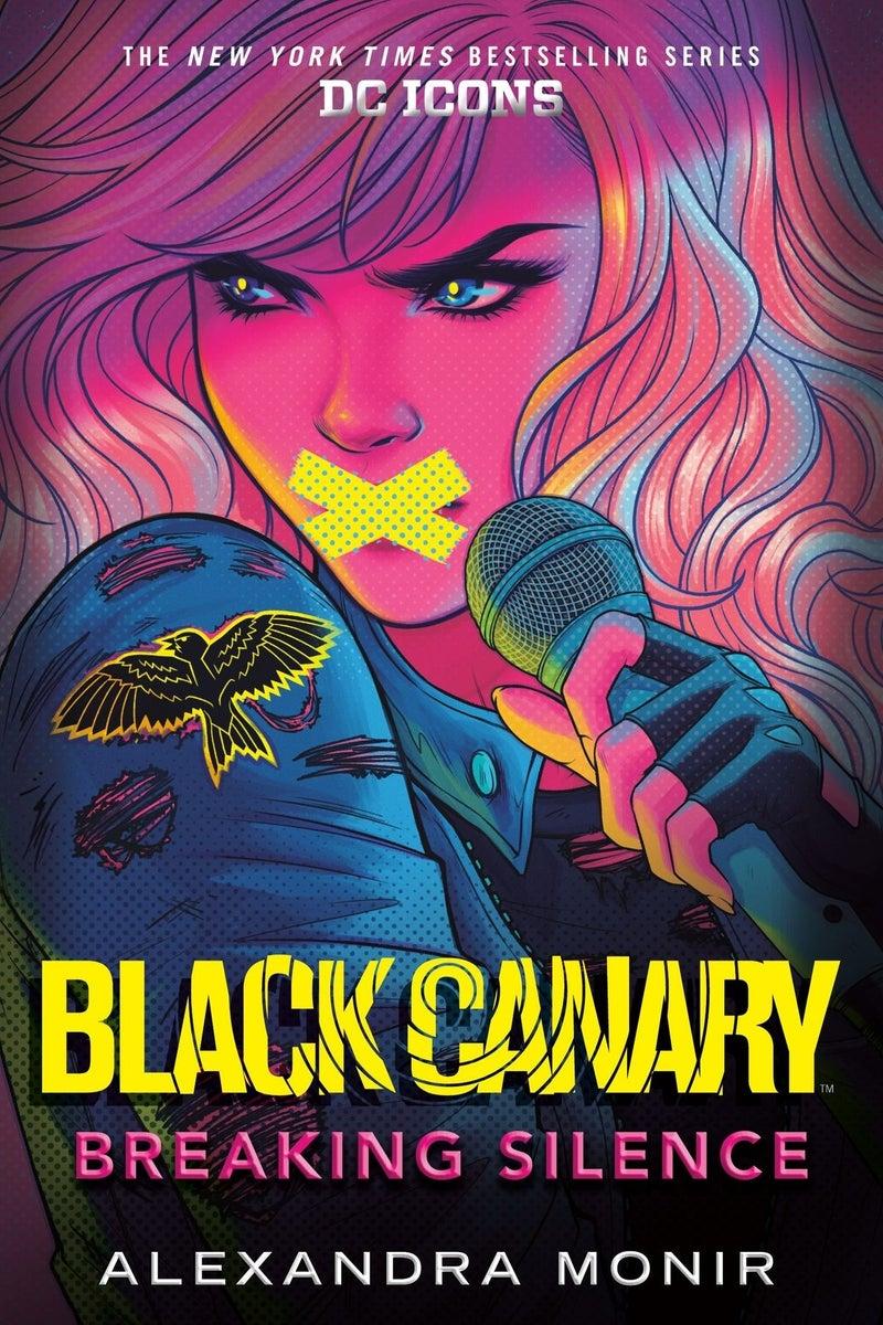 black canary breaking silence