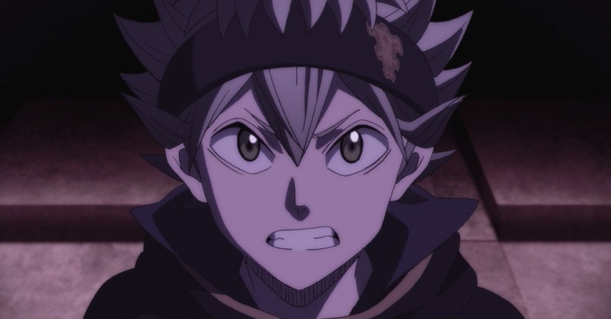Black Clover Anime Asta