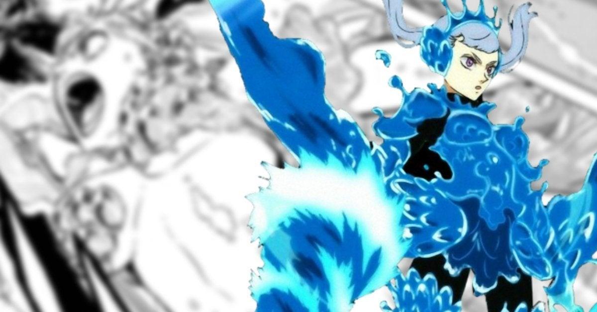 Black Clover Noelle Valkyrie Armor Mermaid Form Manga (1)