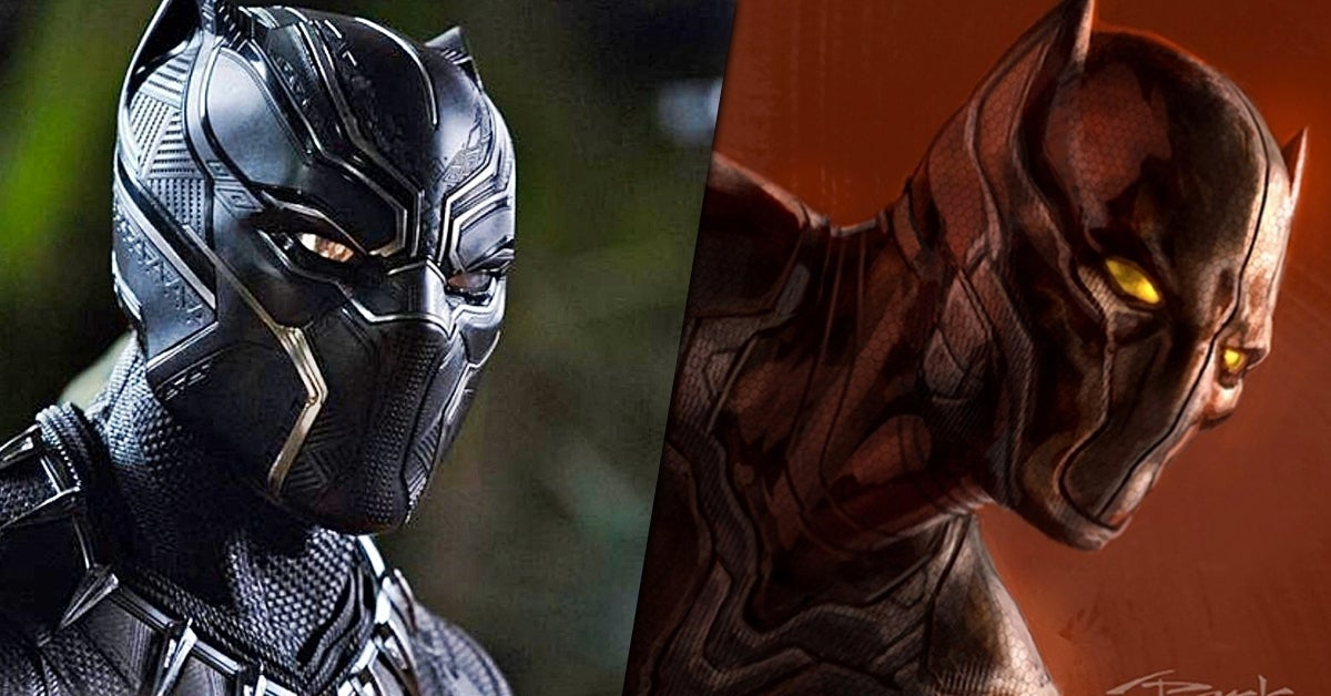 black panther early concept art andy park