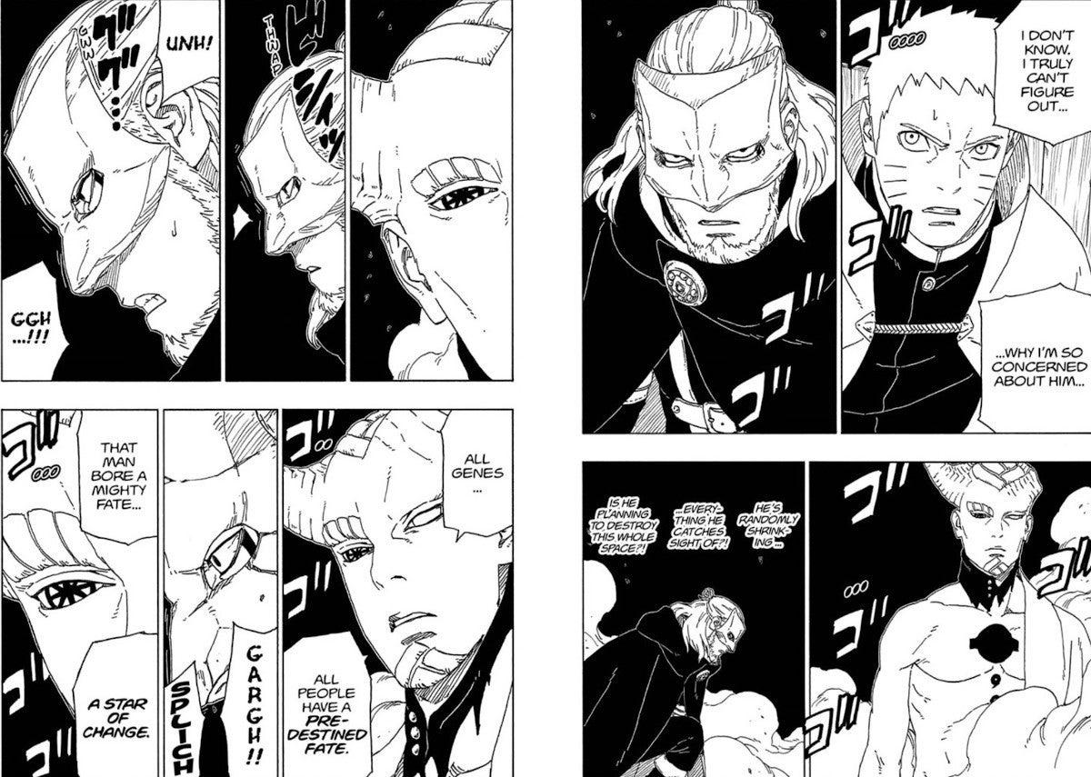 Boruto Manga 47 Isshiki Otsutsuki Powers Jutsu Byakugan
