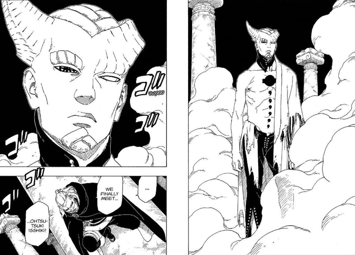Boruto Naruto Manga Isshiki Otsutsuki True Form Revealed