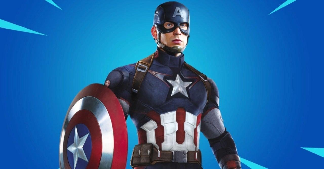 Fortnite Captain America Skin Release Date Reportedly Revealed
