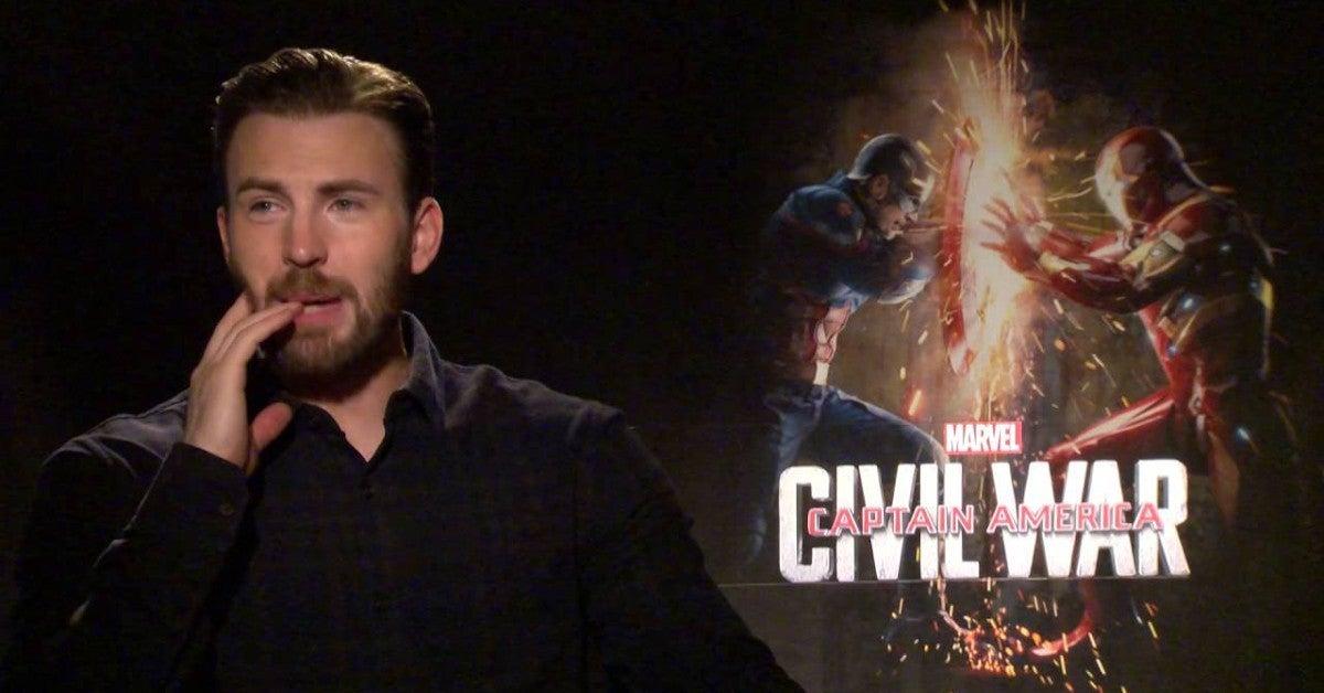Chris Evans Captain America Civil War Cast Dance Video