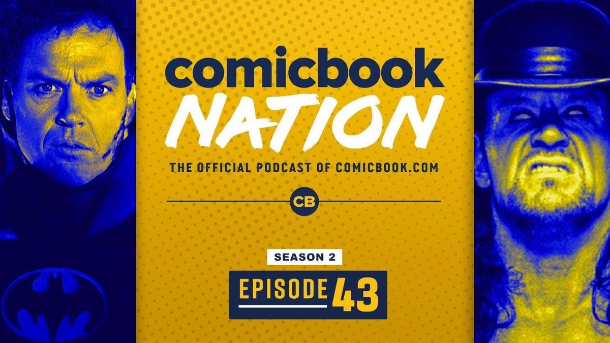 ComicBook Podcast Michael Keaton Batman Flash Movie DCEU WWE Undertaker Retirement