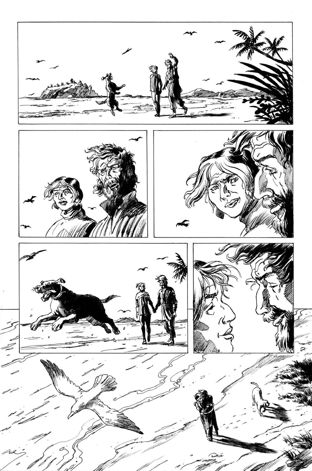 crayta comic 1 ink