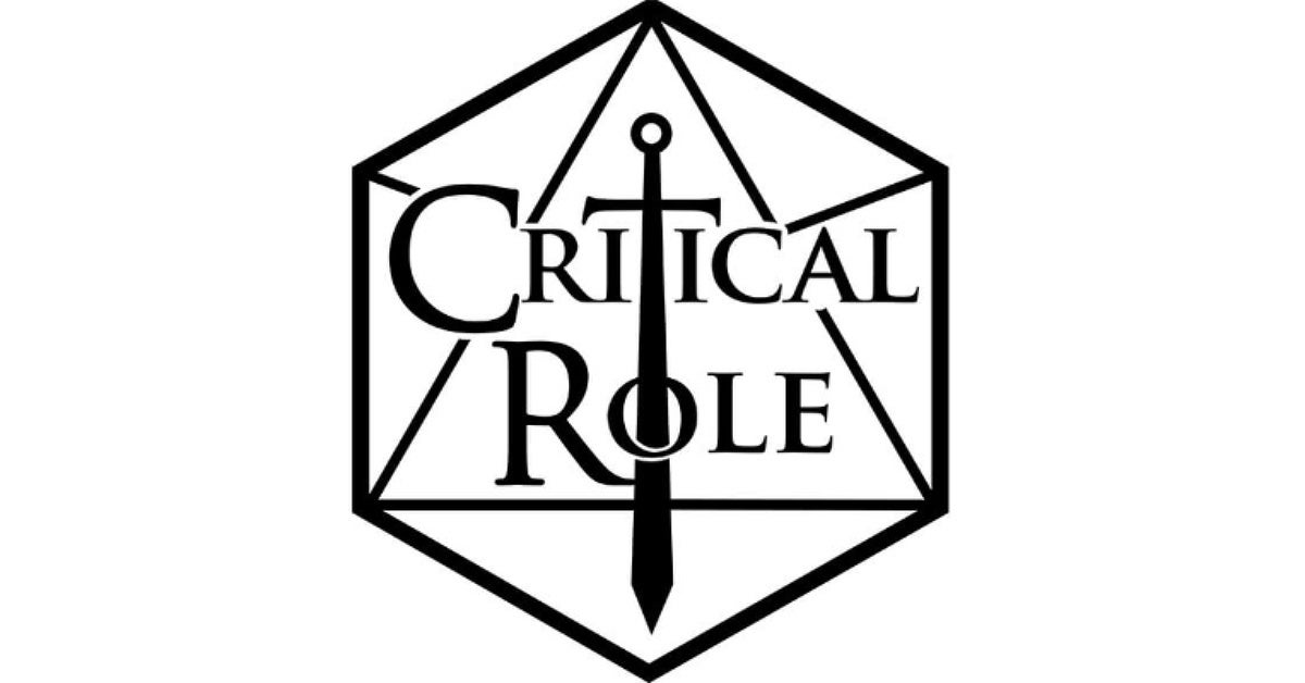 critical role logo hed