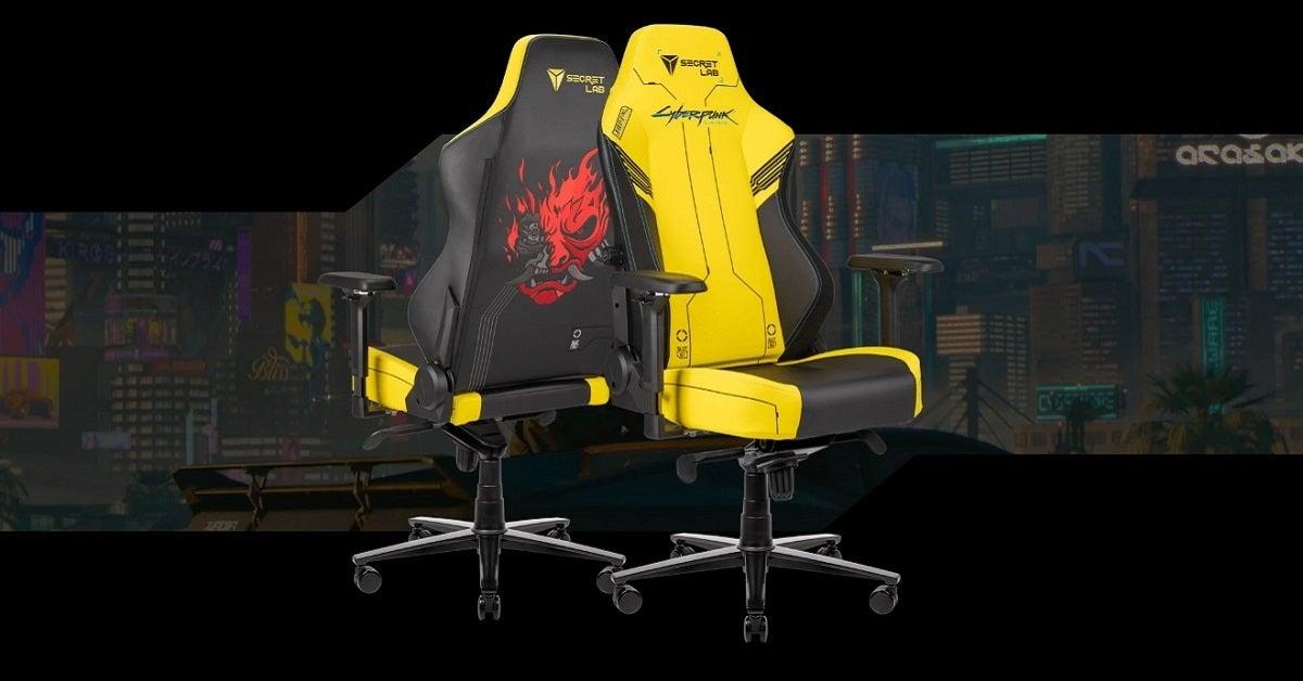 Cyberpunk 2077 Secretlab chair