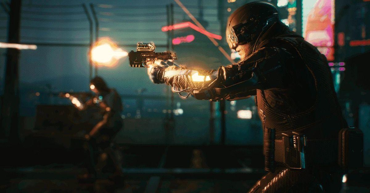 Cyberpunk gunshots