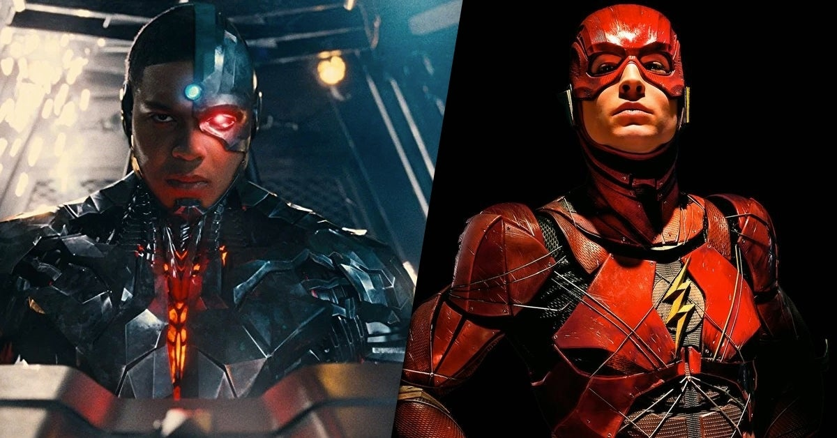 cyborg the flash movie role
