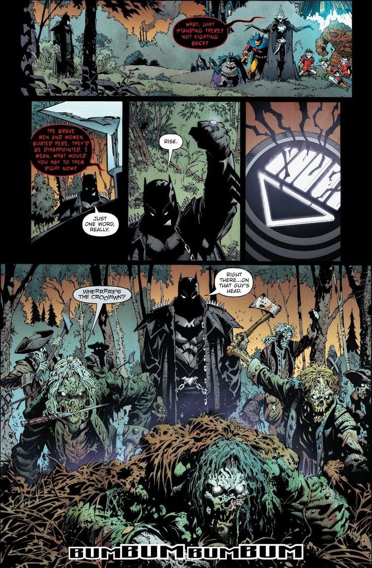 dark nights death metal 1 batman black lantern ring