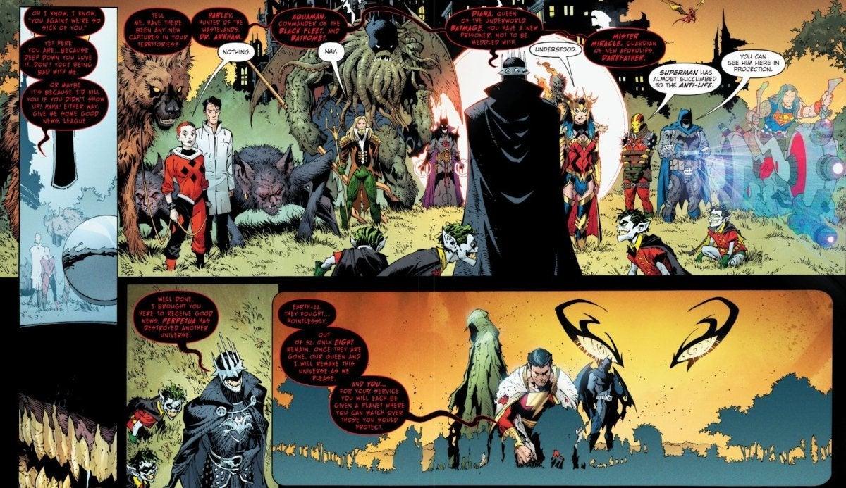 DC Dark Nights Death Metal 1 Batman Who Laughs New Costume